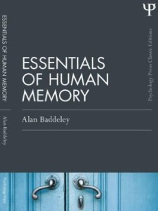 allan baddeley essentials of human memory