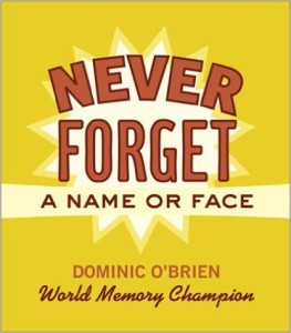 dominic o brien never forget a name or face