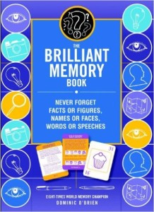 dominic o brien the brilliant memory book