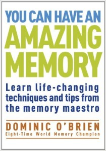dominic o brien you can have an amazing memory