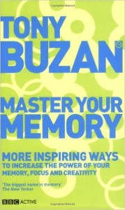 tony buzan- master your memory