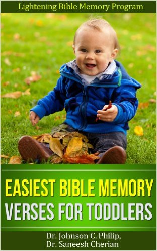 Easiest Bible Memory Verses For Toddlers
