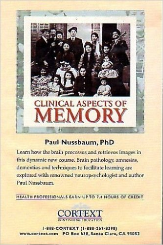 Dr. Paul Nussbaum Clinical Aspects of Memory