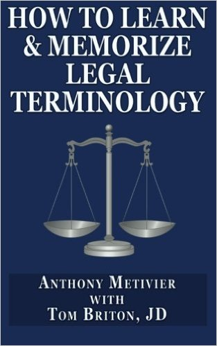 How to Learn & Memorize Legal Terminology