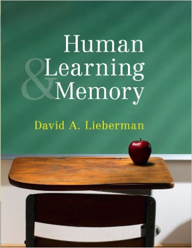 Human Learning and Memory david liebermann