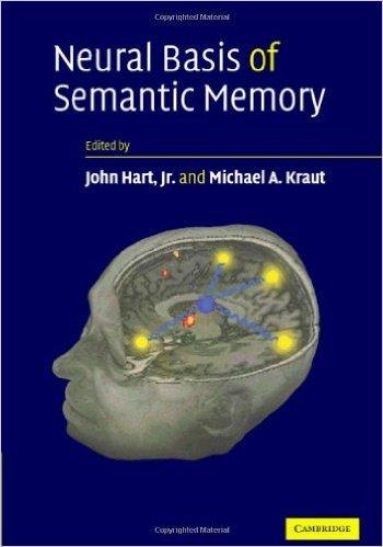 John Hart neural basis of semantic memory