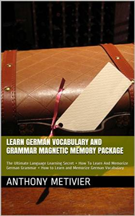 Learn German Vocabulary And Grammar Magnetic Memory Package