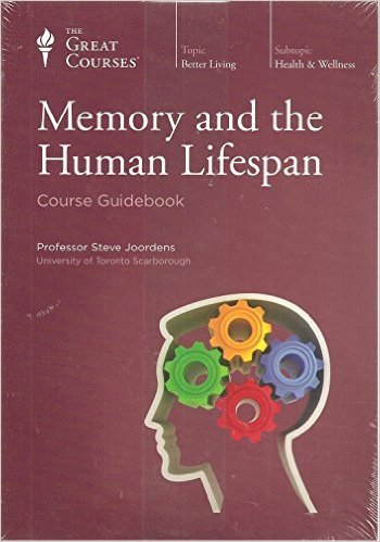 Memory and the Human Lifespan-CD, Great Courses Teaching Company (The Great Courses)