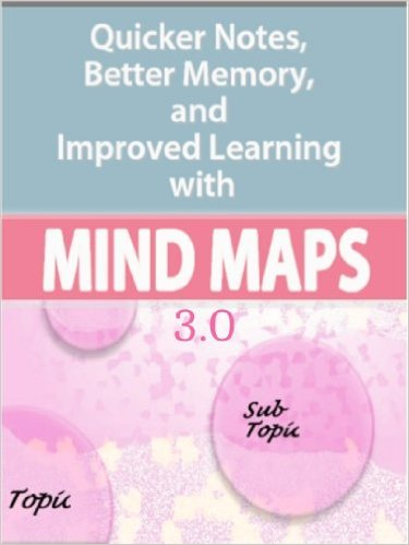 Michael taylor Mind Map Quicker Notes, Better Memory, and Improved Learning 3.0