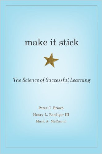 Peter C. Brown make it stick