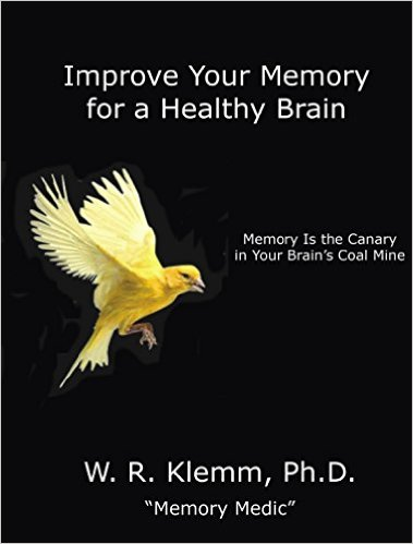 Improve Your Memory for a Healthy Brain: Memory Is the Canary in Your Brain's Coal Mine