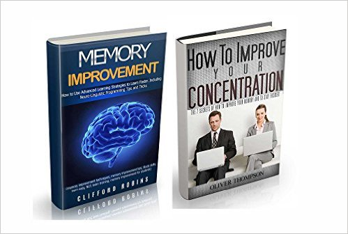 Memory improvement: 2 in 1 book set