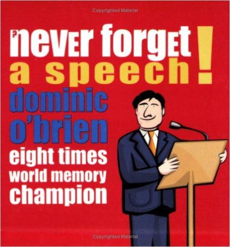 Never Forget a Speech