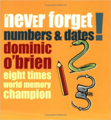 Never Forget Numbers and Dates
